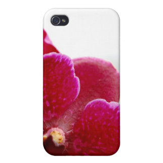 red orchid iPhone 4/4S case