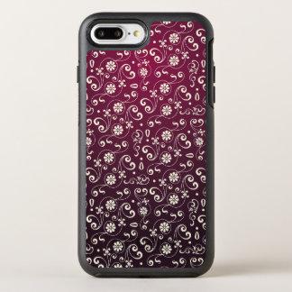 Red ornamental Pattern OtterBox Symmetry iPhone 8 Plus/7 Plus Case