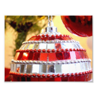 Red Ornaments Photograph