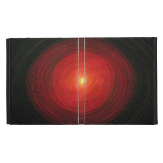 """Red Oval"" - iPad Case"