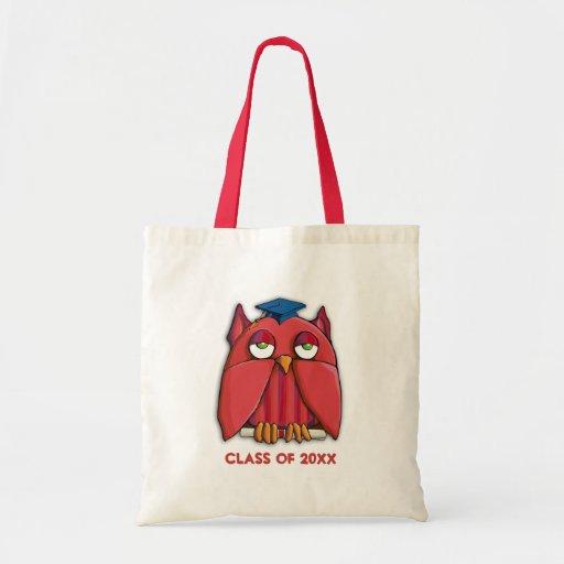 Red Owl Grad Bag