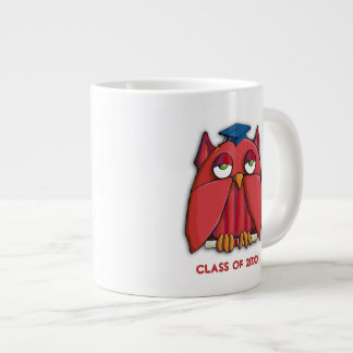 Red Owl Grad Jumbo Mug