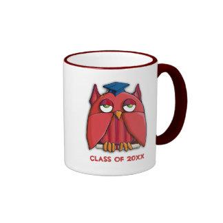 Red Owl Grad Mug