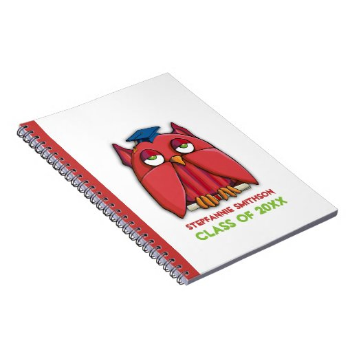 Red Owl Grad Notebook