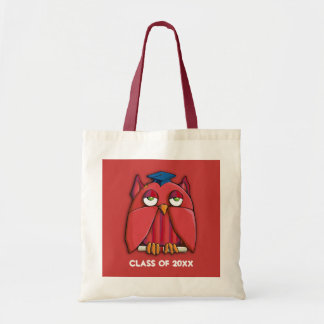 Red Owl Grad red Bag