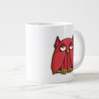 Red Owl Jumbo Mug