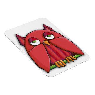 Red Owl Premium Magnet
