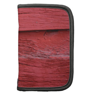 Red Paint Folio Planners