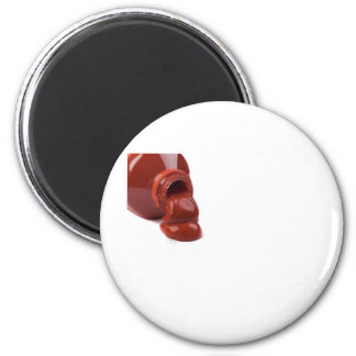 Red Paint Spill Fridge Magnets