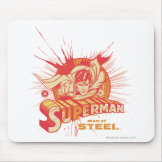 Red paint splatter mouse pad