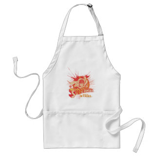 Red paint splatter standard apron