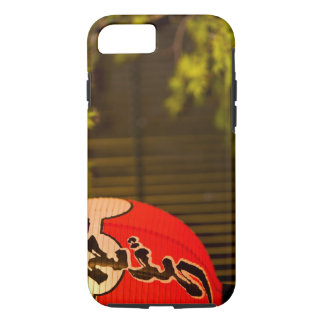 Red painted paper lantern and tree, Kyoto, iPhone 7 Case