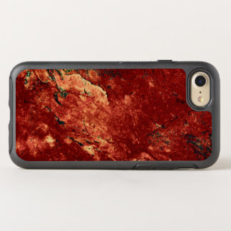 Red Painted Rock OtterBox Symmetry iPhone 8/7 Case