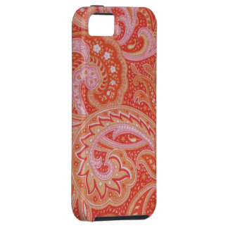red paisley iphone5 case