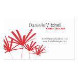 RED PALMS Business Card