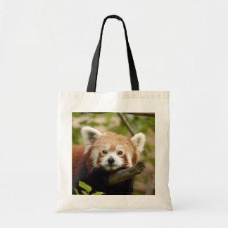 Red Panda-005, Red Panda Budget Tote Bag