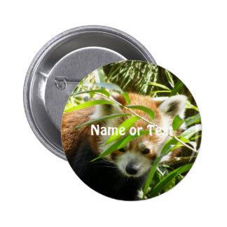 Red Panda 415P2 6 Cm Round Badge