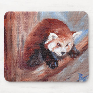 Red Panda aceo Mouse Pads