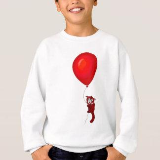 Red Panda Balloon Flight Sweatshirt