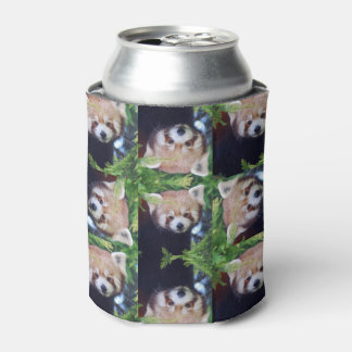 Red Panda Can Cooler