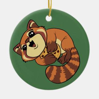 Red Panda! Christmas Ornament