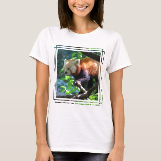 Red Panda Climbing T-Shirt