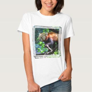 Red Panda Climbing Tee Shirt