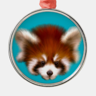 Red Panda Design Christmas Ornament