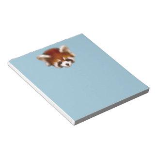 Red Panda Design Notepad