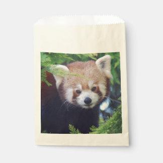Red Panda Favour Bags