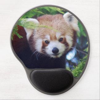 Red Panda Gel Mouse Pad