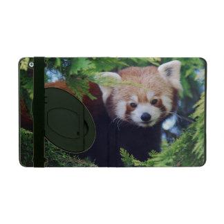 Red Panda iPad Folio Cover