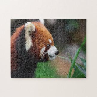 Red panda jigsaw puzzle