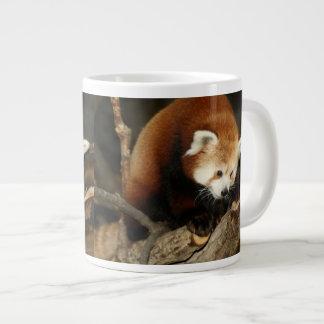 Red Panda Large Coffee Mug
