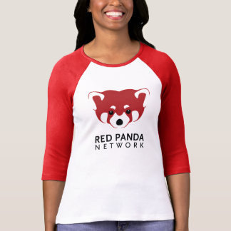 Red Panda Logo 3/4 Sleeve T-Shirt