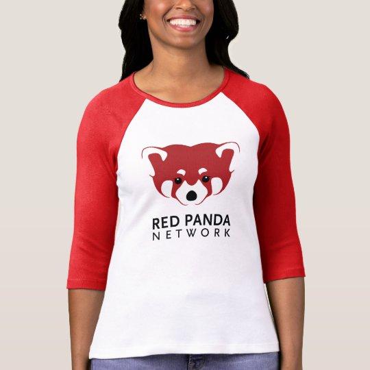 Red Panda Logo 3/4 Sleeve T-Shirt