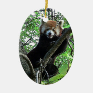 Red Panda Ornament ~ Endangered Species Series