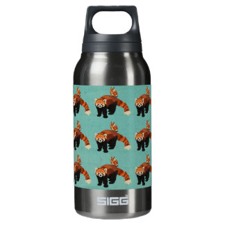 Red Panda & Owl Liberty Bottle 10 Oz Insulated SIGG Thermos Water Bottle