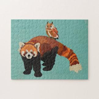 Red Panda & Owl Puzzle