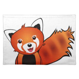 Red panda place mat
