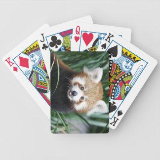 Red Panda Playing Cards