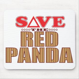 Red Panda Save Mouse Pad