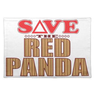 Red Panda Save Placemat