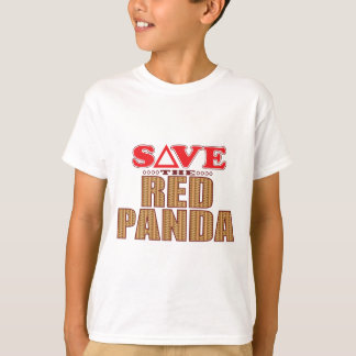 Red Panda Save T-Shirt