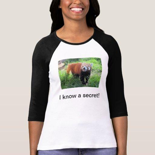 Red Panda Secret Tshirts