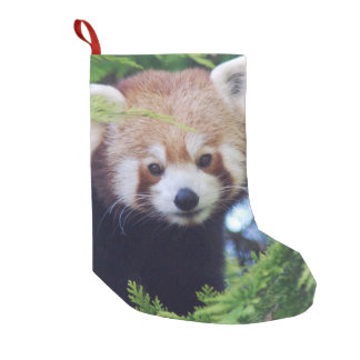 Red Panda Small Christmas Stocking