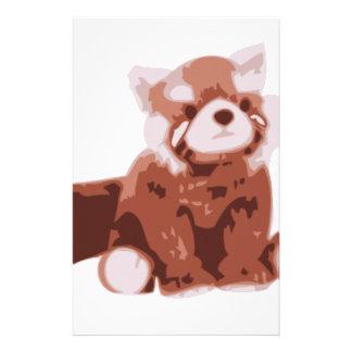 Red Panda Stationery Design