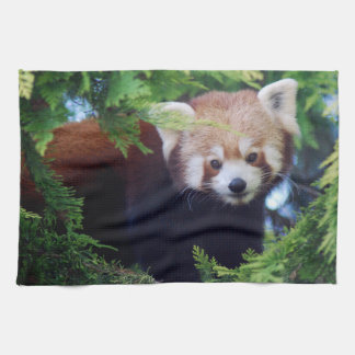 Red Panda Tea Towel