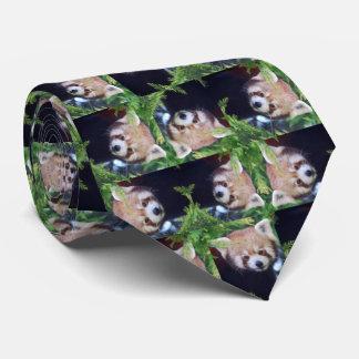 Red Panda Tie
