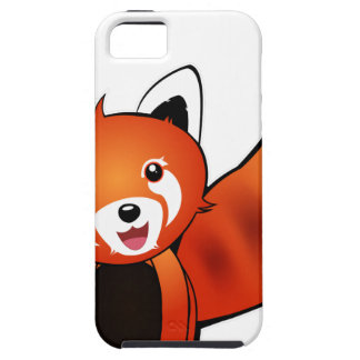 Red panda tough iPhone 5 case